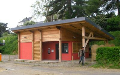 Camping municipal, Locquirec