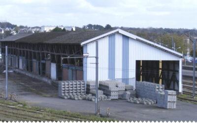 Aménagements, gare de Morlaix