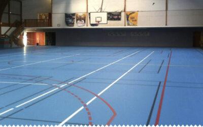 Rénovation de la salle des sports, Taulé